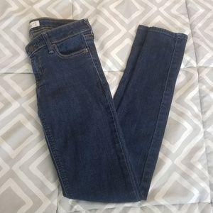 Hollister Dark Wash Straight Jeans 0R